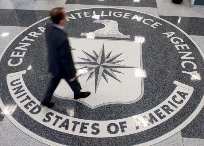 Au siège de la CIA, à Langley (Virginie), en 2008.