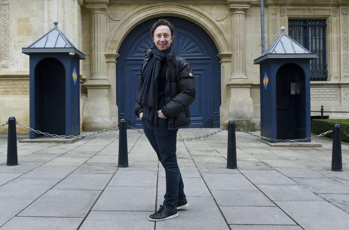 Stéphane Bern, au Luxembourg, le 10 février.
