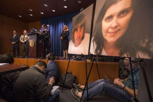 Le procureur Mike Hestrin a livré une conférence de presse, très attendue, à Riverside (Californie), le 18 janvier.