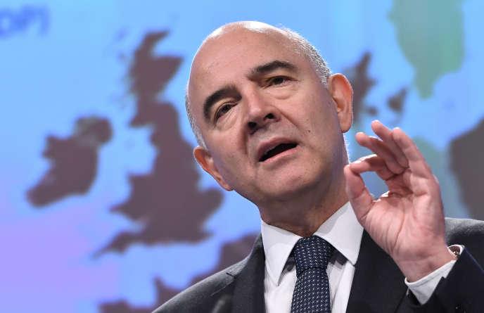 Pierre Moscovici, en novembre 2017, à Bruxelles.