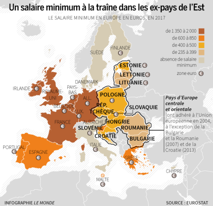 pays zone europe