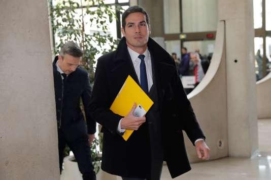 Mathieu Gallet à son arrivée au tribunal de Créteil, le 16 novembre 2017.