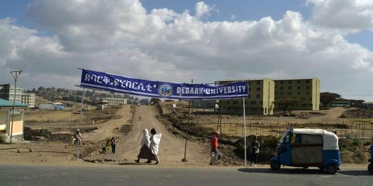 L'université de Debark, dans le nord de l'Ethiopie en janvier 2018.