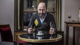 Le comédien Kad Merad au restaurant Da Rosa, dans le 6e arrondissement de Paris, le 15 janvier.