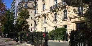 Un immeuble avenue Georges-Mandel, dans le 16e arrondissement de Paris.