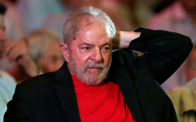 Lula, à Sao Paulo, le 18 janvier 2018.