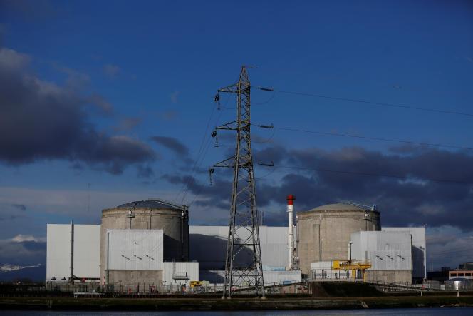 La centrale de Fessenheim, la plus vieille de France, doit fermer à la fin de l'année 2018.