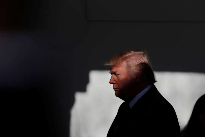 Donald Trump, à Washington, le 19 janvier.