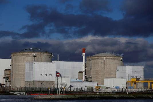 La centrale nucléaire de Fessenheim (Haut-Rhin), le 19janvier.