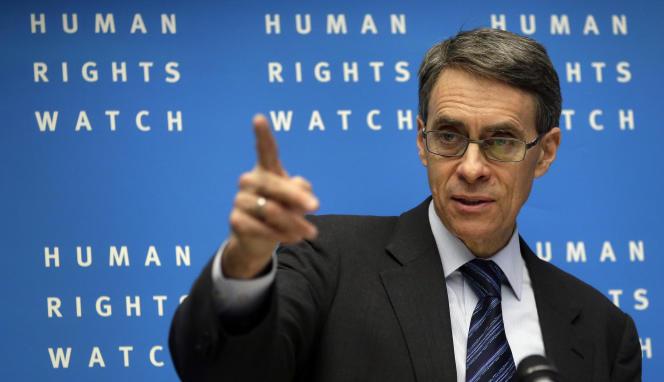 Pour le directeur exécutif de HRW, «le défi pour le président français est de gouverner selon les principes qu'il a avancés pendant sa campagne».