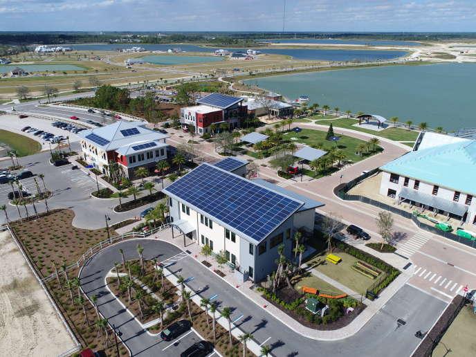 La ville mêlera 20 000 logements et 500 000 m2 de commerces et de bureaux.