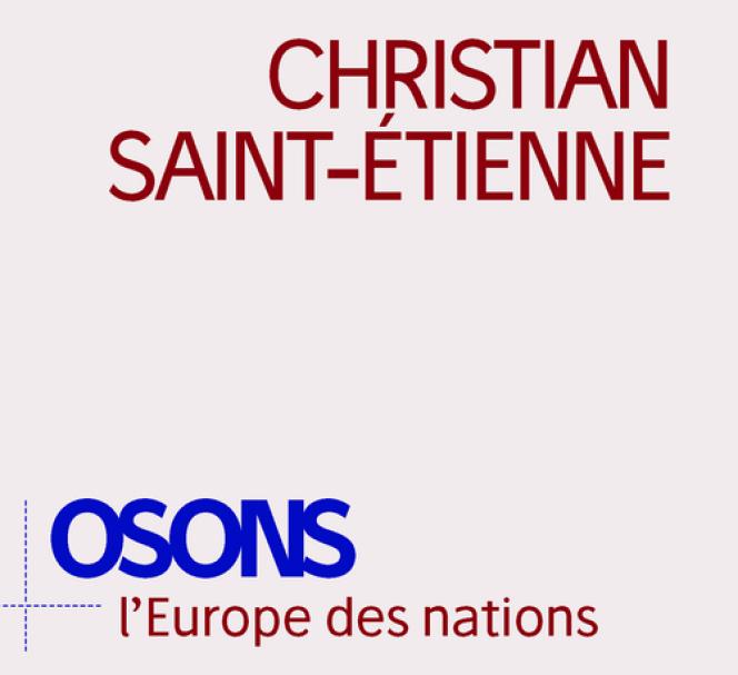 «Osons l'Europe des nations», de Christian Saint-Etienne (Editions de l'Observatoire, 2018, 212 pages, 17 euros).