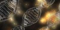 Molécules d'ADN.
