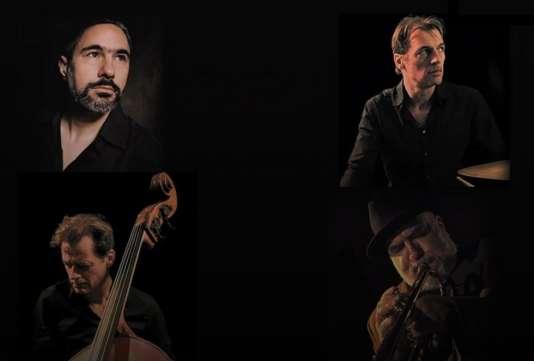 Le pianiste Jean-Michel Pilc, le batteur Louis Moutin, le contrebassiste François Moutin et le trompettiste Randy Brecker.