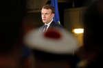Le président de la République a présenté ses vœux aux forces armées, le 19 janvier, à Toulon.