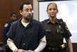 Larry Nassar, le 18 janvier, au tribunal de Lansing (Michigan).