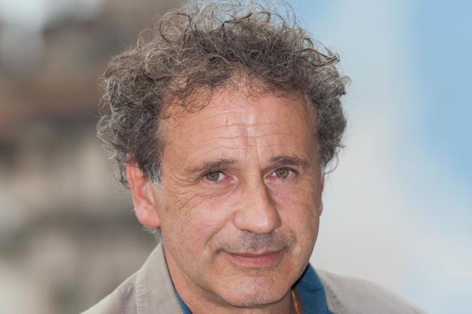 Le cinéaste Emmanuel Finkiel lors du Festival du film francophone d'Angoulême, le 27 août 2017.