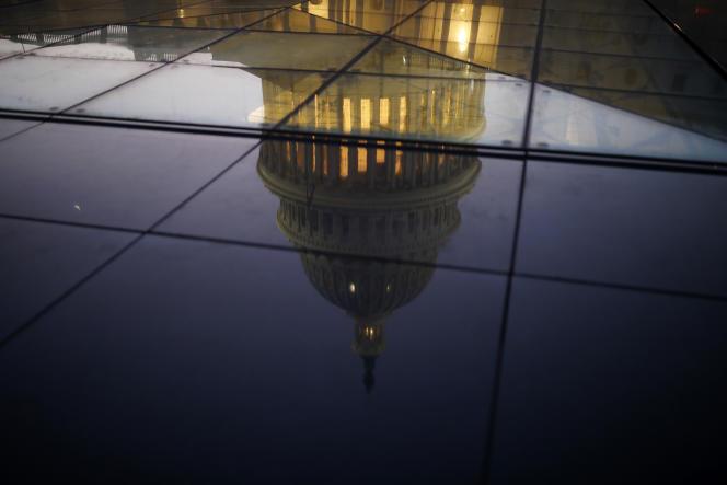 Le Capitole où siège le Sénat américain, à Washington, le 19 janvier.
