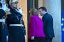 «Faute d'intégration politique, certains banquiers centraux et nombre d'économistes considèrent que la zone euro n'est pas viable dans la durée, en raison des divergences macroéconomiques qui continuent de se creuser entre ses Etats membres» (Photo:Emmanuel Macron reçoit la chancelière Angela Merkel à l'Elysée, le 19 janvier).