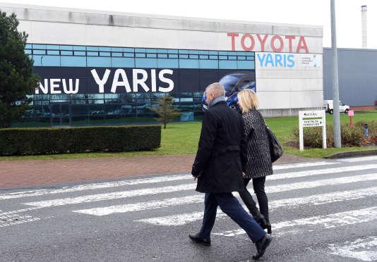 L'usine Toyota Valenciennes à Onnaing (Nord), le 12 décembre 2017.
