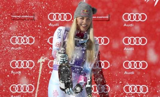 L'Américaine a remporté samedi 20 janvier la deuxième descente de Cortina d'Ampezzo.