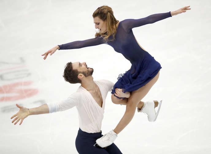 Gabriella Papadakis et Guillaume Cizeron ont été sacrés champions d'Europe de danse sur glace pour la quatrième année consécutive, samedi 20 janvier, à Moscou, en Russie.