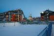 Sabetta, le 8 décembre 2017, où Total a lancé Yamal, son mégaprojet gazier dans l'Arctique russe.