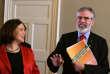 Gerry Adams et Mary Lou McDonald.