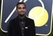 L'acteur Aziz Ansari à son arrivée à la remise des Golden Globes à Beverly Hills (Californie), le 7 janvier.