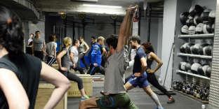 Salle de CrossFit à Paris.