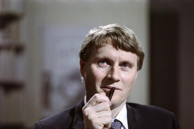 Alain Devaquet, en 1988.