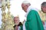 Le cardinal Sean Patrick O'Malley, à l'arrivée du pape François pour une messe à Lima, le 21 janvier.