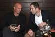 Yanis Varoufakis, ancien ministre grec des finances, et Benoît Hamon, à Paris le 21 janvier, lors d'une conférence de presse commune.