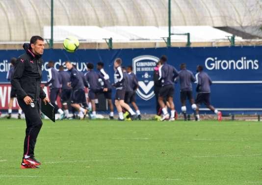 Gustavo Poyet est le nouvel entraîneur des Girondins de Bordeaux.