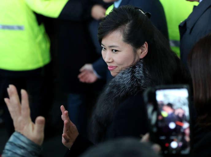 Arrivée de Hyon Song -wol, chef d'une délégation nord-coréenne qui séjournera deux jours au Sud pour préparer les événements culturels nord-coréens qui se dérouleront pendant les JO.