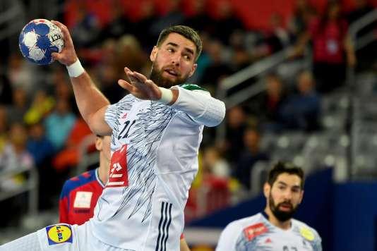 Luka Karabatic a mal entamé la rencontre face à la Serbie (expulsion temportaire), mais il l'a terminée meilleur buteur français du match.
