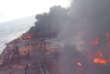 Mer de Chine : des images filmées sur le pétrolier Sanchi avant qu'il ne coule