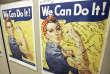 L'affiche de« Rosie the riveter» (ici dans affichée dans un exposition historique en Californie, en 2007) est restée longtemps dans l'oubli.