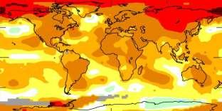 2017 a été une des années les plus chaudes jamais enregistrées.