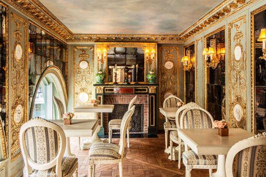 Le Café Pouchkine de la Madeleine s'étend sur deux niveaux et 600 m2.