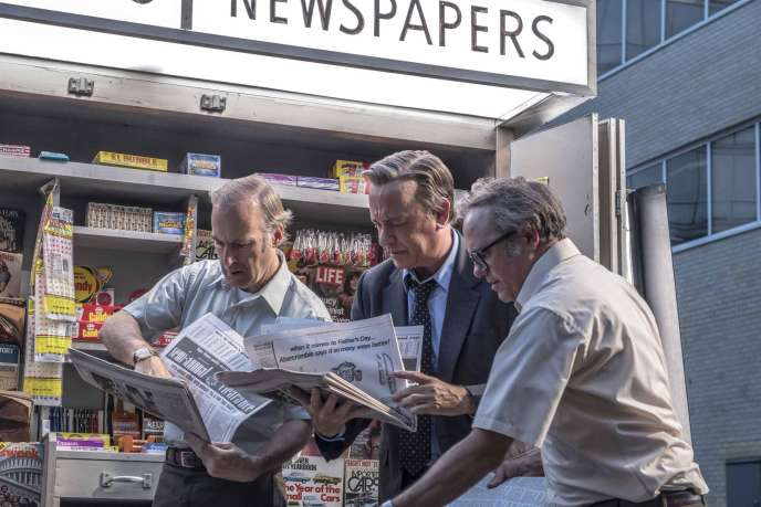 Bob Odenkirk et Tom Hanks dans« Pentagon Papers», de Steven Spielberg.