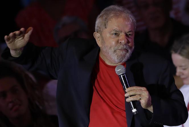 Luiz Iñacio Lula da Silva, à Sao Paulo, le 18 janvier.