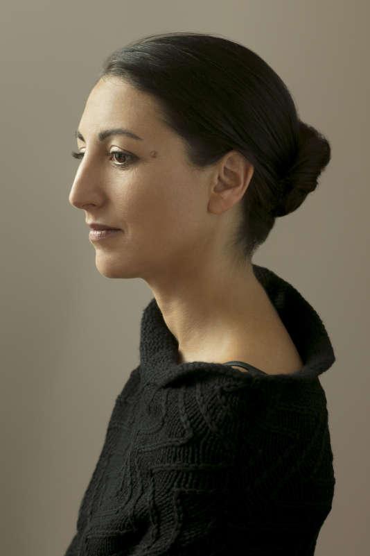 L'écrivaine Violaine Huisman, en 2017.
