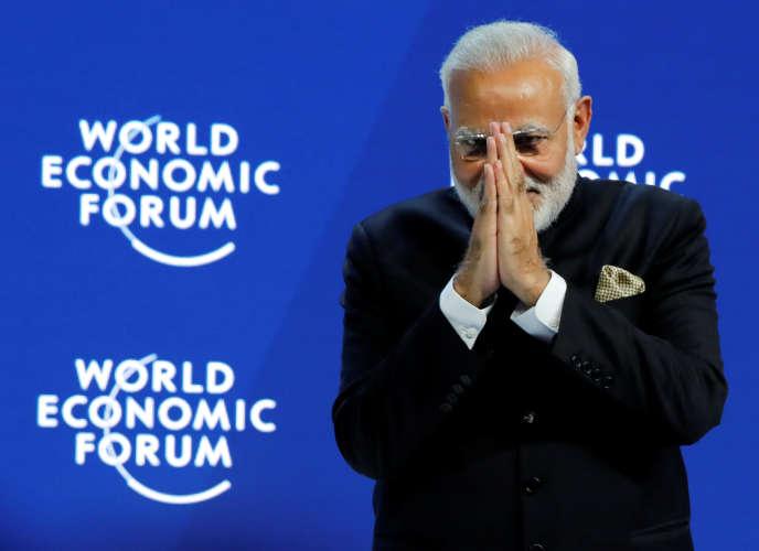 «l'avenir de l'Inde dépendra en grande partie de la qualité de sa gouvernance. Le bilan de Narendra Modi depuis son élection en 2014 est indéniablement favorable en matière de réformes structurelles»(Le premier ministre indien Narendra Modi à Davos, en Suisse, le 23 janvier).