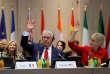 « Quels que soient les responsables de ces attaques, la Russie sera in fine tenue responsable des victimes de la Ghouta orientale et des innombrables Syriens victimes d'attaques chimiques depuis que la Russie s'est impliquée dans le conflit syrien », a déclaré le secrétaire d'Etat américain, Rex Tillerson.