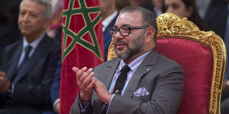 Le roi du Maroc Mohammed VI, à Casablanca, le 11 décembre 2017.