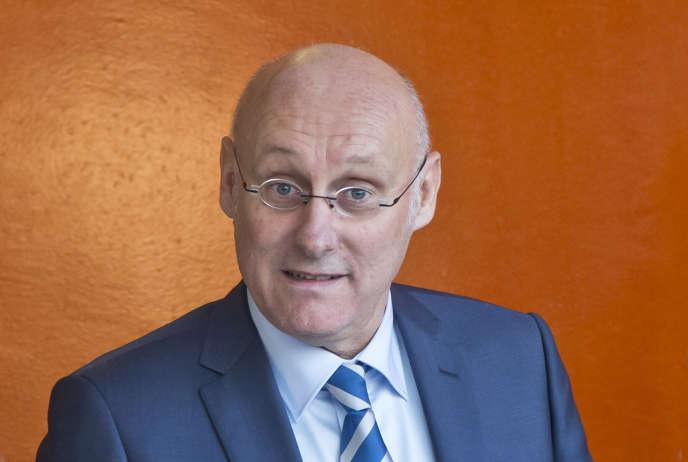 Bernard Laporte, président de la Fédération française de rugby, le 8 janvier à Marcoussis (Essonne).