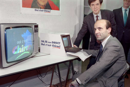 Alain Juppé pendant la présidentielle de 1988 ; trois ans plus tôt en 1985, la CNIL réglementait l'usage des fichiers«à des fins électorales».