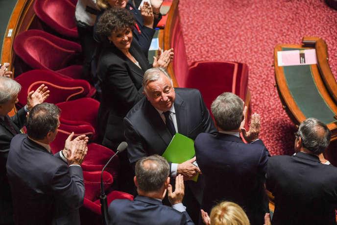 Gérard Larcher, au Sénat, le 2 octobre 2017.