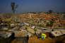 Le camp de réfugiés de Balukhali, près de la ville de Cox's Bazar, au Bangladesh, le 23 janvier.